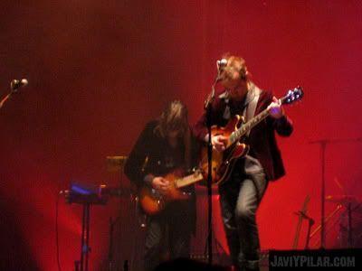 Nacha Pop sobre el escenario de Gredos. Músicos en la Naturaleza, 30 de junio de 2007