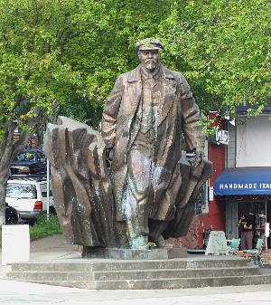Lenin en Fremont (Seattle)