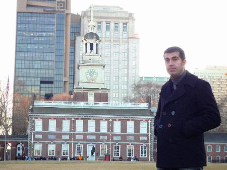 Delante del Independence Hall