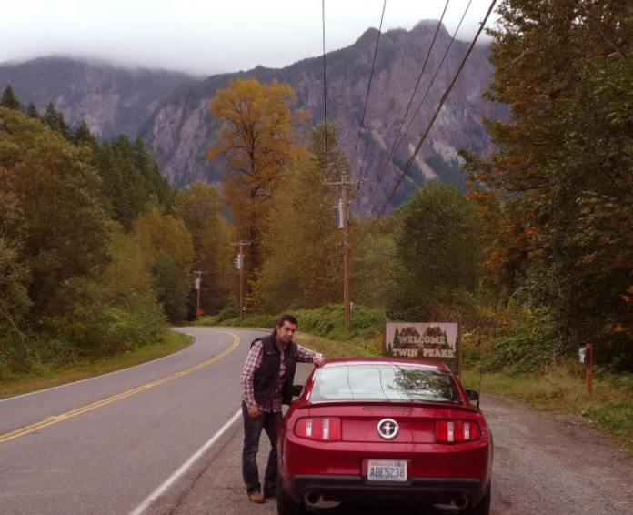Entrando en Twin Peaks en septiembre de 2010