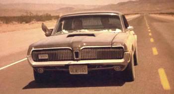 """Coche de """"Abierto Hasta el Amanecer"""" (""""From Dusk Till Dawn"""", 1996): Mercury Cougar XR-7 de 1968"""