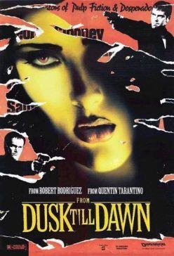 """Cartel de """"Abierto Hasta el Amanecer"""" (""""From Dusk Till Dawn"""", 1996)"""