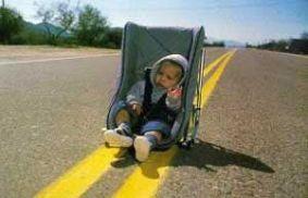 Escena clásica de la película Arizona Baby (Raising Arizona, 1987)
