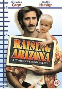 Cartel original de Arizona Baby (Raising Arizona, 1987)