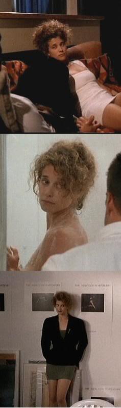 """La sexy Nancy Travis en """"Asuntos Sucios"""" (""""Internal Affairs"""", 1990)"""