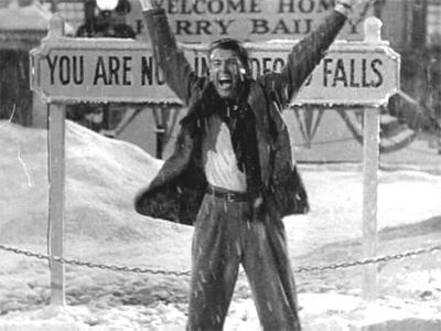"""George Bailey, el hombre más rico de Bedford Falls. """"Qué Bello Es Vivir"""" (""""It's A Wonderful Life"""", 1946)"""