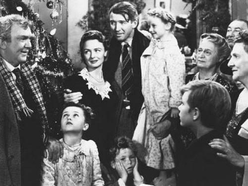 """Toda la familia reunida. Felicidad. """"Qué Bello Es Vivir"""" (""""It's A Wonderful Life"""", 1946)"""