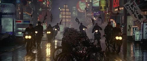 """""""Black Rain"""", rodada en Osaka"""