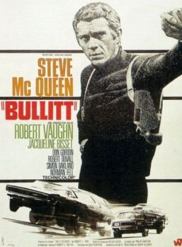 "Cartel de ""Bullitt"" (1968)"