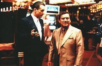 """De Niro y Pesci en el Tangiers (""""Casino"""" de MartinScorsese, 1995)"""