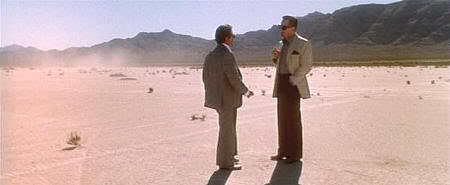 """De Niro y Pesci se citan en el desierto de Nevada (""""Casino"""" de MartinScorsese, 1995)"""