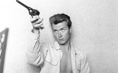 Un joven Clint Eastwood