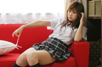 Estudiantes japonesas visten como en los manga