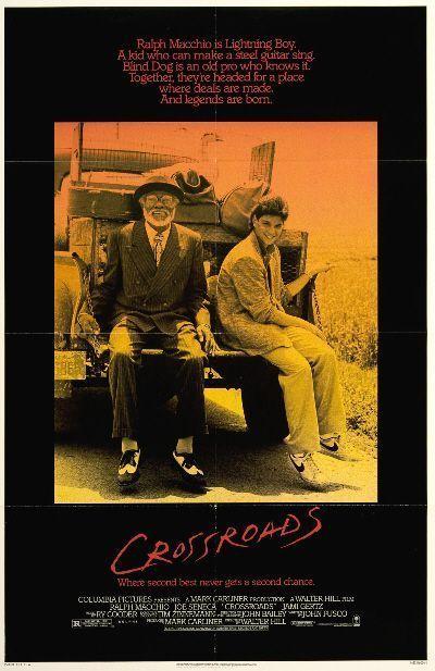 "Cartel de ""Cruce de Caminos"" (""Crossroads"", 1986)"