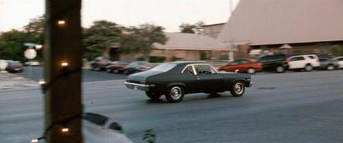 """Chevrolet Nova en """"Death Proof"""" (Quentin Tarantino, 2007)"""