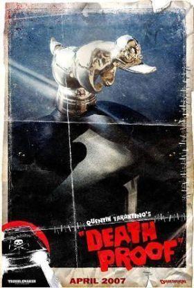"""Cartel alternativo de """"Death Proof"""" (Quentin Tarantino, 2007) con un pato de goma"""
