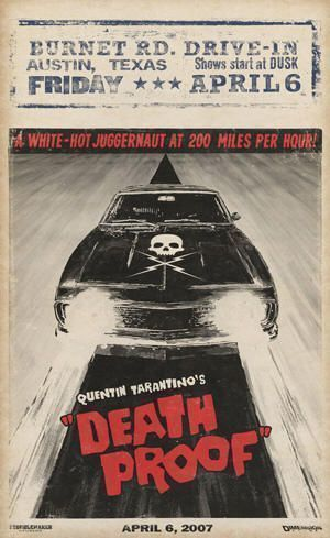 "Cartel de ""Death Proof"" (2007)"