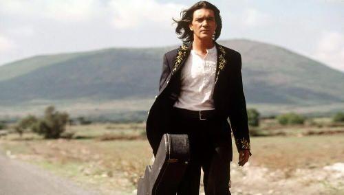 """Antonio Banderas en """"Desperado"""" (Robert Rodriguez, 1995)"""