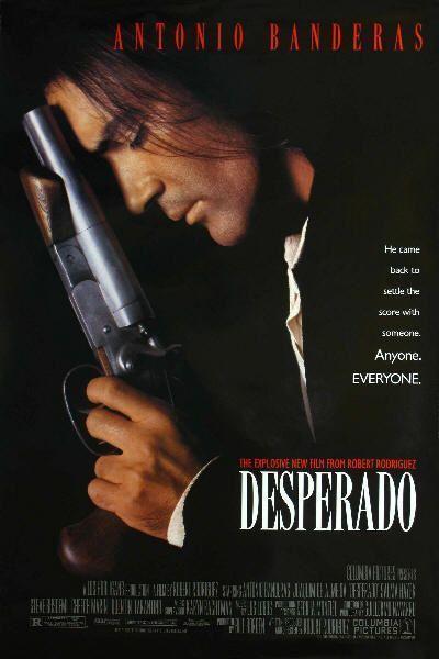 "Cartel de ""Desperado"" (Robert Rodriguez, 1995)"