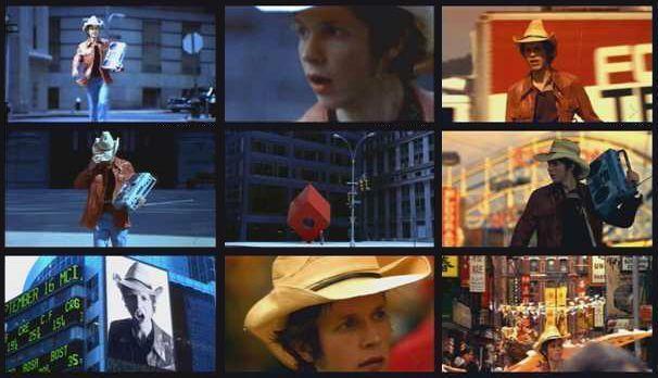 """Escenas del vídeo """"Devil's Haircut"""" de Beck"""