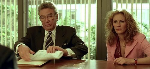 "Albert Finney y Julia Roberts en ""Erin Brockovich"" (2000)"