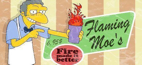 Flameado de Moe: la receta