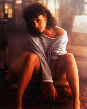 "La supersexy Jennifer Beals en ""Flashdance"" (1983)"
