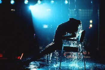 "Escena mítica de ""Flashdance"" (1983)"