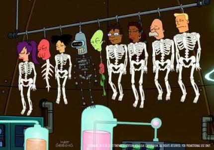 Única imagen conocida del nuevo episodio de Futurama