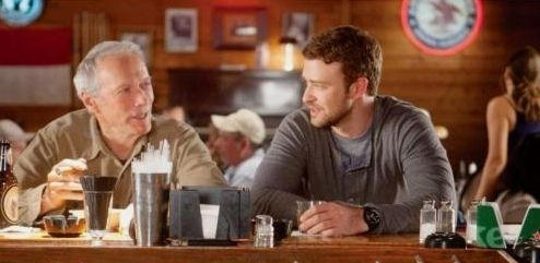 "Clint Eastwood y Justin Timberlake en ""Golpe de Efecto"" (""Trouble With The Curve"", 2012)"
