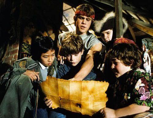 ...mirando el mapa de Willy el Tuerto