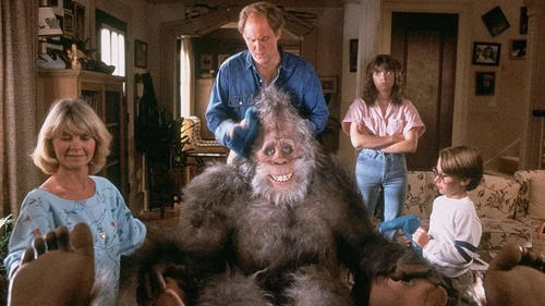 "La familia Henderson al completo. Big Foot y los Henderson (""Harry and the Hendersons"", 1987)"