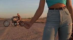 """Dos Duros Sobre Ruedas"" (""Harley Davidson and the Marlboro Man"", 1991)"