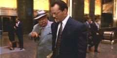Bruce Willis en el Rockefeller Center