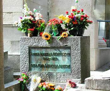 Tumba de Morrison en París
