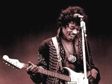 Jimi Hendrix compró su primera guitarra por cinco dólares en Seattle