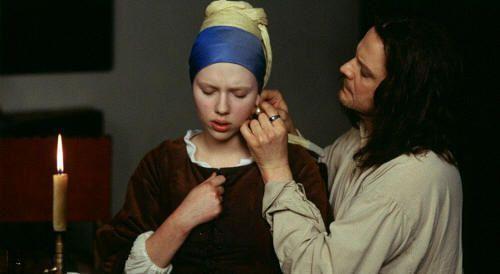 """Colin Firth y Scarlett Johansson en """"La Joven de la Perla"""" (""""Girl With a Pearl Earring"""", 2003)"""