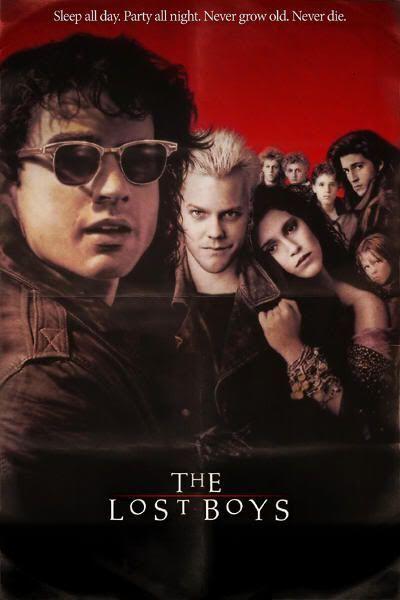 """""""Jóvenes Ocultos"""" (""""The Lost Boys"""", 1987)"""