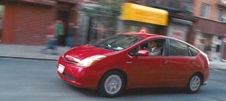 """Toyota Prius en """"Los Otros Dos"""" (""""The Other Guys"""", 2010)"""