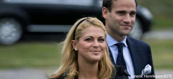 La princesa Magdalena y el abogado Jonas Bergström han decidio, de común acuerdo, terminar su relación