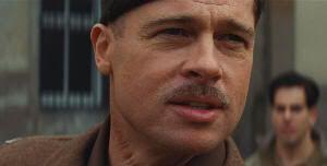 """Brad Pitt en """"Malditos Bastardos"""" (""""Inglourious Basterds"""", 2009), de Quentin Tarantino"""