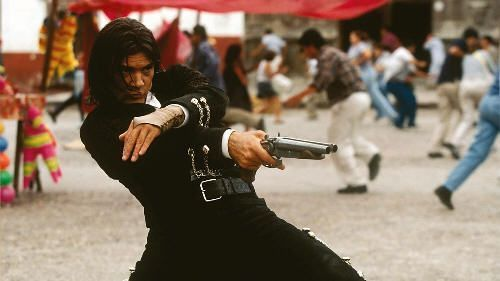 "Antonio Banderas en ""El Mexicano"" (""Once Upon a Time in Mexico"", 2003)"
