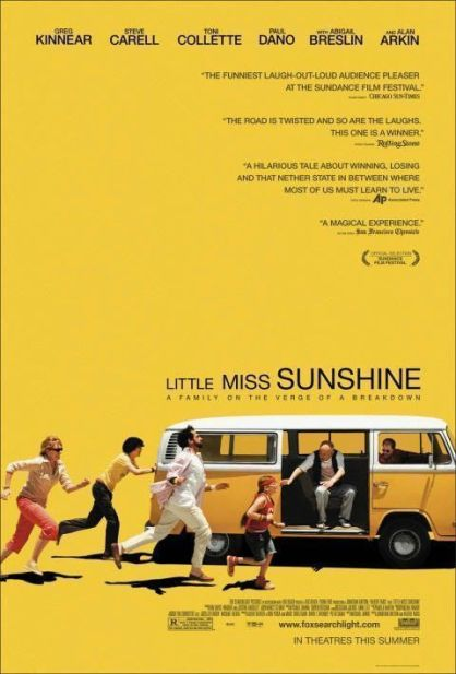 "Cartel de ""Pequeña Miss Sunshine"" (""Little Miss Sunshine"", 2006)"