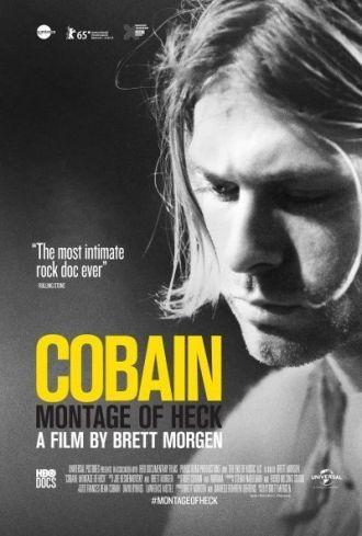 """Cartel de """"Cobain. Montage of Heck"""""""