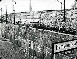 El vergonzoso Muro de Berlín