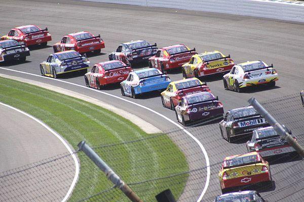 La NASCAR, las carreras de coches americanas