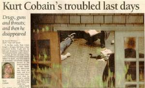 La imagen que apareció en los periódicos de todo el mundo