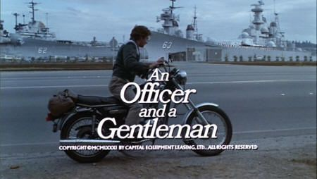 """Oficial y caballero"" (""An Officer and a Gentleman"", 1982)"