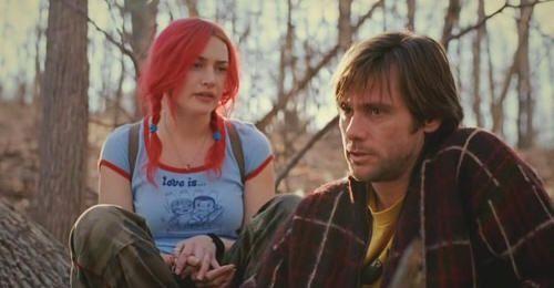 "Jim Carrey en ""Olvídate de mí"" (""Eternal Sunshine of the Spotless Mind"", 2004)"
