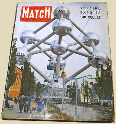 Número especial de Paris Match sobre la feria